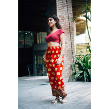 Load image into Gallery viewer, King Elephant Women's Harem Pants in Red
