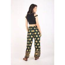 Load image into Gallery viewer, King elephant womens harem pants in Green PP0004 020059 06