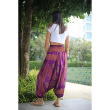 Load image into Gallery viewer, Big eye Unisex Aladdin drop crotch pants in Purple PP0056 020065 03