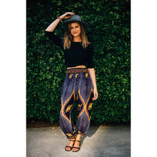 Load image into Gallery viewer, Diamond Elephant Womens Harem Pants in purple PP0004 020079 01