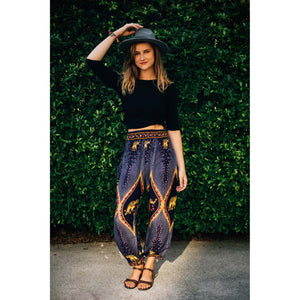 Diamond Elephant Women's Elephant Pants in Purple
