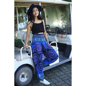Colorful sunflower 95 women harem pants in Navy PP0004 020095 03