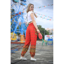 Load image into Gallery viewer, Elephant 99 women harem pants in Red PP0004 020099 06