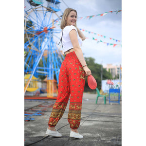 Elephant 99 women harem pants in Red PP0004 020099 06