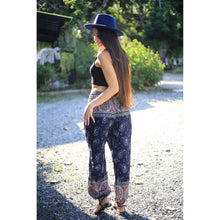 Load image into Gallery viewer, copy of paisley mystery womens harem pants in blue 1 PP0004 020117 02