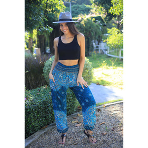 Rose bushes 118 women harem pants in Ocean blue PP0004 020118 02