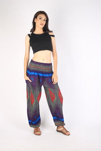 Big eye 175 women harem pants in Purple PP0004 020175 03