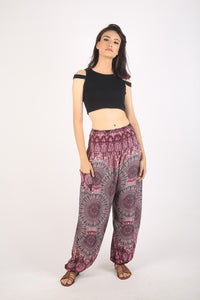 Mandala 178 women harem pants in Purple PP0004 020178 04