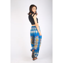 Load image into Gallery viewer, Tie dye 192 women harem pants in Ocean blue PP0004 020192 05