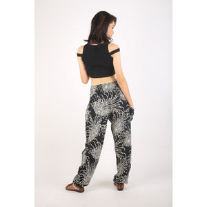 Flower 194 women harem pants in Black PP0004 020194 08