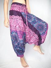 Load image into Gallery viewer, Clock nut Unisex Aladdin drop crotch pants in Purple PP0056 020067 04