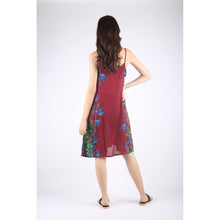 Load image into Gallery viewer, Tie Dye Women's Dressest in Red DR0003 020172 02