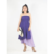 Load image into Gallery viewer, Solid Color Women's Dresses in Purple DR0439 060000 10