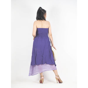Solid Color Women's Dresses in Purple DR0439 060000 10