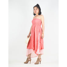 Load image into Gallery viewer, Solid Color Women's Dresses in Old Rose DR0439 060000 24