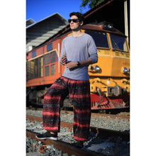 Load image into Gallery viewer, Paisley Buddha 2 men/women harem pants in Red PP0004 020002 04