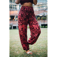 Load image into Gallery viewer, Elephant Circles 51 women harem pants in Pink PP0004 020051 05