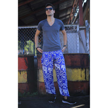 Load image into Gallery viewer, Buddha Elephant 9 men/women harem pants in Bright Blue PP0004 020009 07