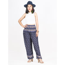 Load image into Gallery viewer, Elephant diamond 85 women harem pants in Navy PP0004 020085 01