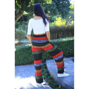 Funny Stripe 21 women harem pants in Green PP0004 020021 04
