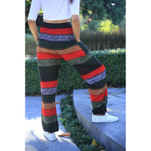 Load image into Gallery viewer, Funny Stripe 21 women harem pants in Green PP0004 020021 04