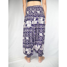 Load image into Gallery viewer, Imperial Elephant Unisex Aladdin drop crotch pants in Purple PP0056 020005 03