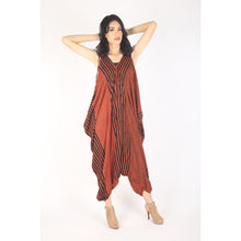 Load image into Gallery viewer, Zebra Women's Jumpsuit in Orange JP0008 020077 05
