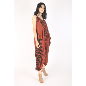 Zebra Women's Jumpsuit in Orange JP0008 020077 05