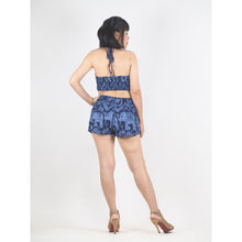 Load image into Gallery viewer, Elephant Circles Women's Swimwear in Navy JP0010 020051 06 M