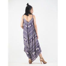 Load image into Gallery viewer, Elephant Temple Women's Jumpsuit in Purple JP0069 020014 04