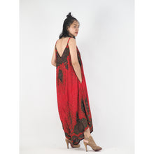 Load image into Gallery viewer, Middle East Women's Jumpsuit in Red JP0069 020106 02