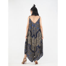 Load image into Gallery viewer, Temple Flower Women's Jumpsuit in Bright Navy JP0069 020159 02