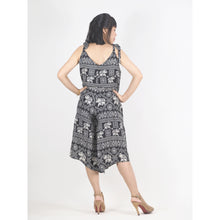 Load image into Gallery viewer, African Elephant Women's Jumpsuit in Black JP0082 020004 01