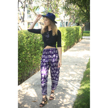 Load image into Gallery viewer, Lovely heart 78 women harem pants in Purple PP0004 020078 03