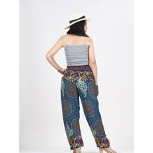 Load image into Gallery viewer, Mandala 151 women harem pants in Green PP0004 020151 02