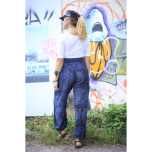 Load image into Gallery viewer, Monotone Mandala 31 women harem pants in Navy PP0004 020031 02