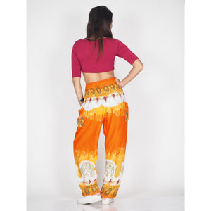 Solid Top Elephant 17 women harem pants in Orange PP0004 020017 03