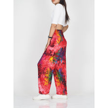Load image into Gallery viewer, Tie dye 37 women harem pants in Red PP0004 020037 01