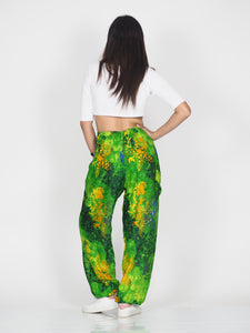 Tie dye 37 women harem pants in Green PP0004 020037 02