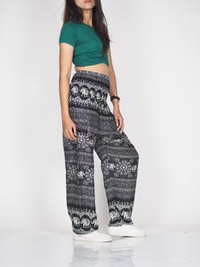 Sunflower elephant 25 women harem pants in Black PP0004 020025 01