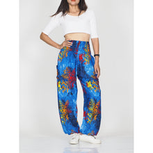 Load image into Gallery viewer, Tie dye 37 women harem pants in Navy PP0004 020037 03