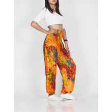 Load image into Gallery viewer, Tie dye 37 women harem pants in Orange PP0004 020037 06