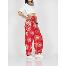 Load image into Gallery viewer, Tie dye 39 women harem pants in Red PP0004 020039 01