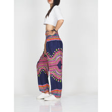Load image into Gallery viewer, Regue 43 men/women harem pants in Navy PP0004 020043 05