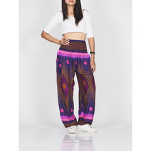 Load image into Gallery viewer, Big eye 50 women harem pants in Purple PP0004 020050 05