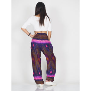 Big eye 50 women harem pants in Purple PP0004 020050 05