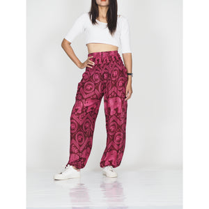 Elephant Circles 51 women harem pants in Pink PP0004 020051 05