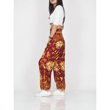 Load image into Gallery viewer, Tie dye 55 women harem pants in Red PP0004 020055 02