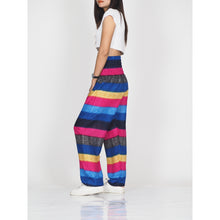 Load image into Gallery viewer, Funny Stripes 63 women harem pants in Navy PP0004 020063 04