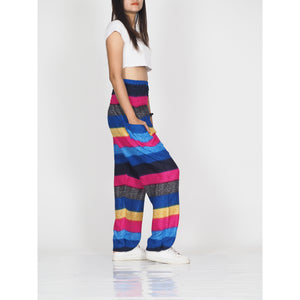 Funny Stripes 63 women harem pants in Navy PP0004 020063 04